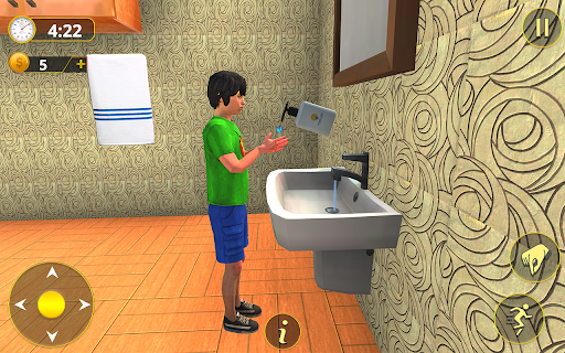 Happy Family Life Dad Mom - Virtual Housewife Care  screenshots 15