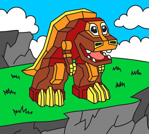 Painting : Robots Apkfinish screenshots 1