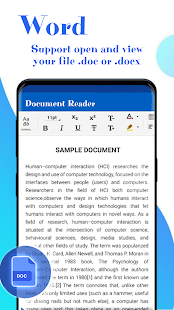 Office Document Reader - Docx, Xlsx, PPT, PDF, TXT Screenshot