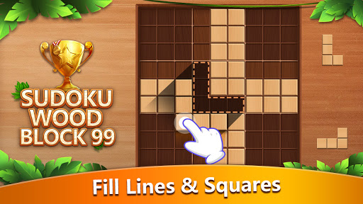Sudoku Wood Block 99 screenshots 1