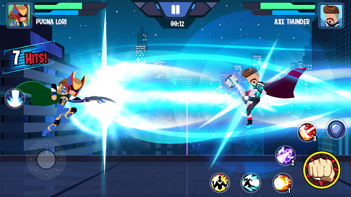 Stickman Heroes Fight - Super Stick Warriors apklade screenshots 2