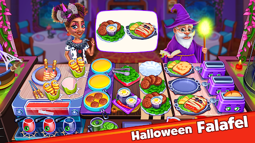 Halloween Madness : Cooking Games Food Fever apkslow screenshots 23
