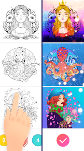 Magic Paint - Color by number & Pixel Art 0.9.24 Screenshots 6