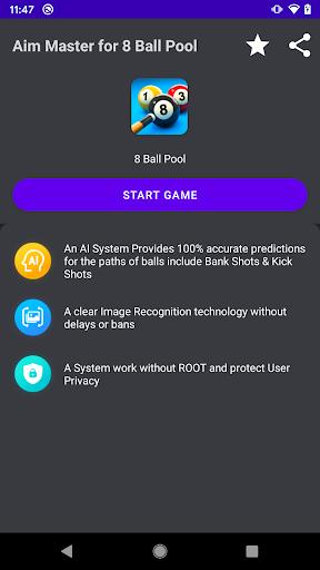 Aim Master for 8 Ball Pool  Screenshots 2