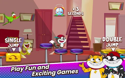 Honey Bunny Ka Jholmaal Games : Rise Up Jump & Run 1.0.3 screenshots 16