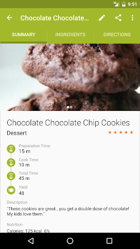 Cookmate (formerly My CookBook) -  Recipe manager screenshots 2