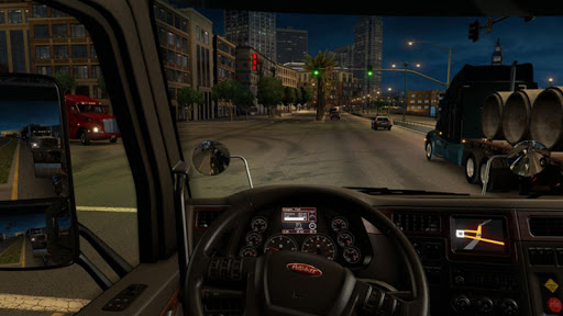American Truck Real Driving Cargo Simulator 2021 apkpoly screenshots 7