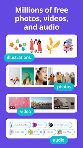 Canva: Graphic Design, Video Collage, Logo Maker screenshots 6