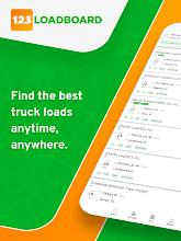 Find Truck Loads. Freight Load Board 123Loadboard screenshot thumbnail