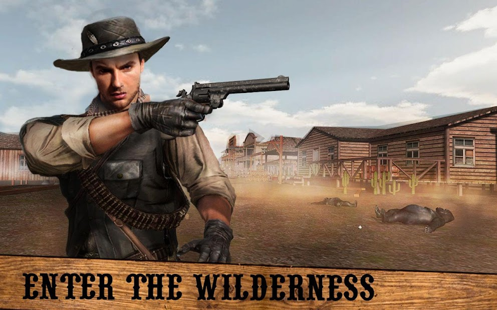 Captura de Pantalla 9 de Apes Age Vs Wild West Cowboy: Survival Game para android