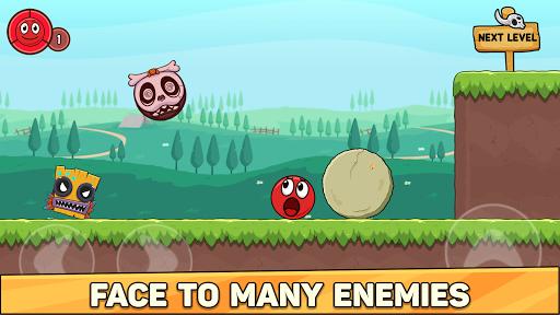 Bounce Ball 6: Red Bounce Ball Hero 5.2 Screenshots 5