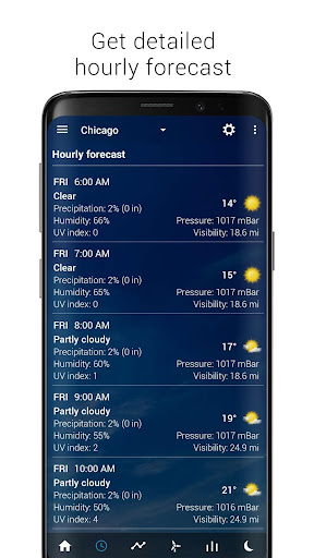 Transparent clock & weather screenshot 15