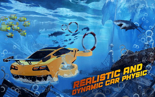 Underwater Flying Car Game 1.0.2 screenshots 18