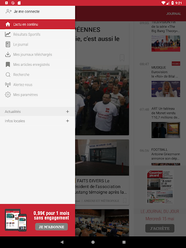 Courrier Picard : l'info locale, France et monde 5.19.2 screenshots 8