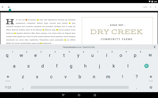 Google PDF Viewer 2.19.381.03.40 screenshots 7