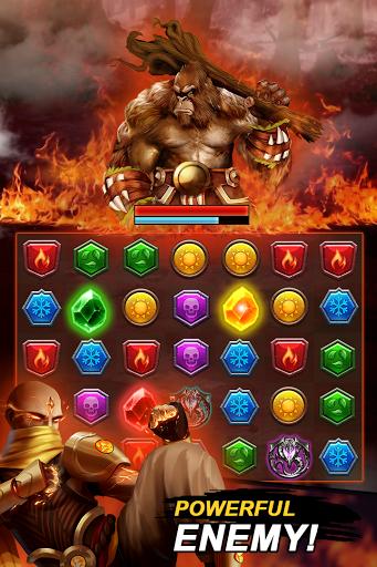 Dungeon Puzzles: Match 3 RPG  screenshots 4