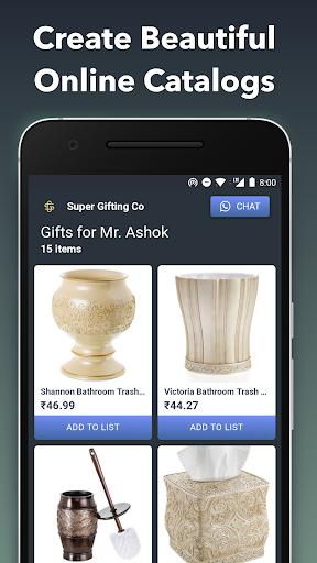 QuickSell : WhatsApp Digital Cataloguing & Sales 0.10.136 screenshots 1