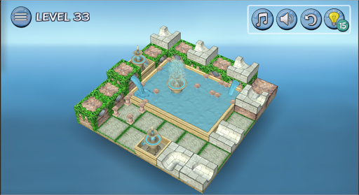 Flow Water Fountain 3D Puzzle 1.2 Screenshots 19