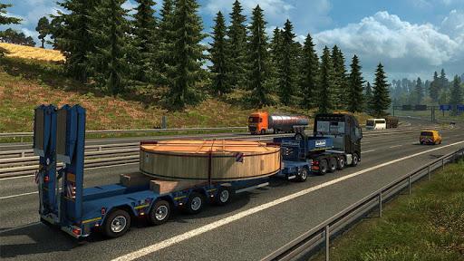 Euro Truck Boat Cargo Driving Simulator 2020  screenshots 1