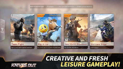 Knives Out-No rules, just fight! apklade screenshots 2