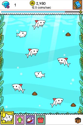 Shark Evolution - Fierce Shark Making Clicker screenshots 5
