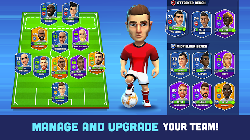 Mini Football - Mobile Soccer  screenshots 3