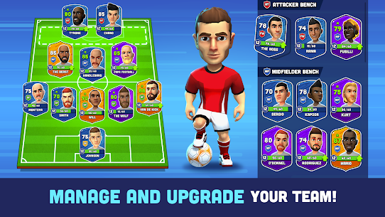 Mini Football – Mobile Soccer Mod Apk (Dumb Enemy/No Ads) 3