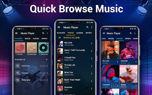 Music Player - Bass Booster & Free Music 2.6.0 Screenshots 10