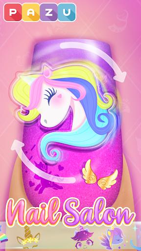 Nail Art Salon - Manicure & jewelry games for kids 1.9 screenshots 1