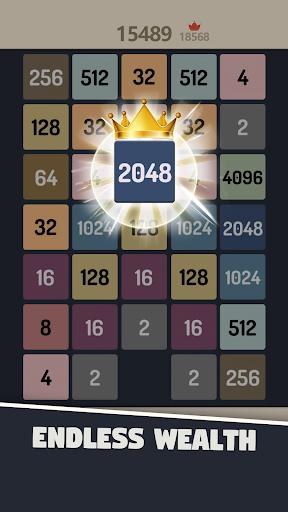 2048 Merge Numbers apkpoly screenshots 2