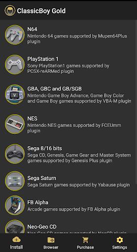 ClassicBoy Gold (64-bit) Game Emulator  screenshots 1