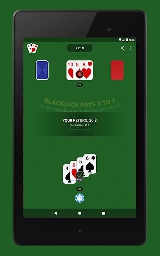 Blackjack - Free & Offline 1.7.1 Screenshots 15