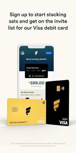 Fold - Bitcoin Cashback Rewards  Screenshots 5