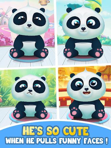 Pu - Cute giant panda bear, virtual pet care game 3.1 screenshots 17