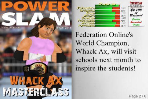 Wrestling Revolution 2.104 screenshots 4