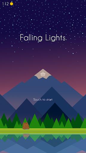 falling lights: minimalist challenge screenshot 1