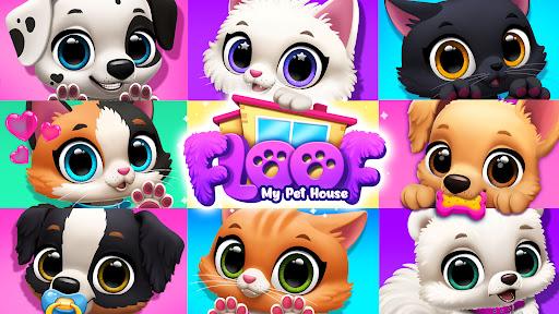 FLOOF - My Pet House - Dog & Cat Games  screenshots 7