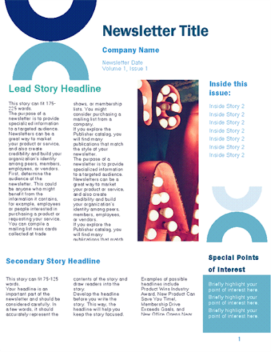 Free Email Newsletter Templates  screenshots 15