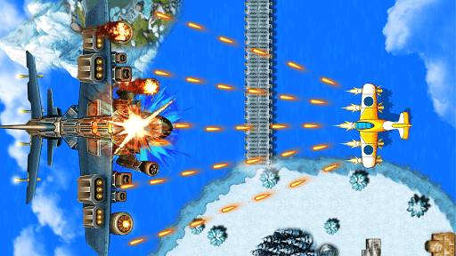 Strike Force- 1945 War 5.4 screenshots 8