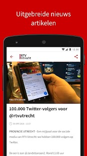 RTV Utrecht Screenshot