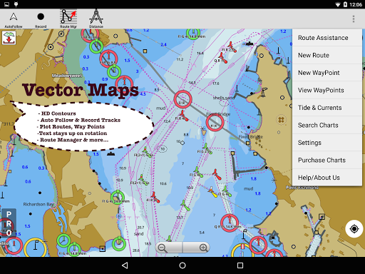 i-Boating:Marine Navigation Maps & Nautical Charts modavailable screenshots 11