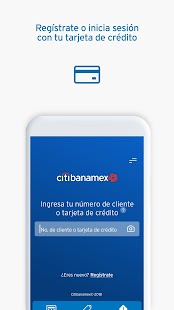 Citibanamex Móvil Screenshot
