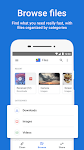 screenshot of Files by Google