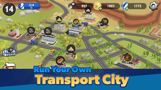 Transport City  Truck Tycoon Apk Download 3