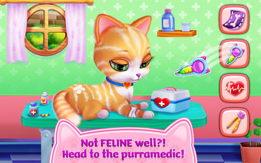 Kitty Love - My Fluffy Pet android2mod screenshots 4
