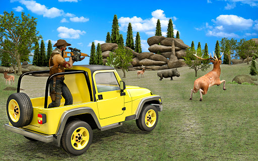 Wild Deer Hunting Games 3D Animal Shooting Games  screenshots 1