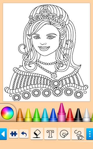 Princess Coloring Game 15.3.8 Screenshots 1
