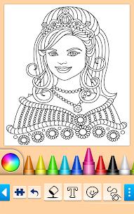 Princess Coloring Game 15.0.8 Mod APK (Unlock All) 1