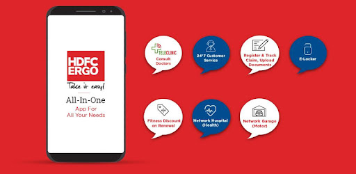 HDFC ERGO Insurance App - Apps on Google Play