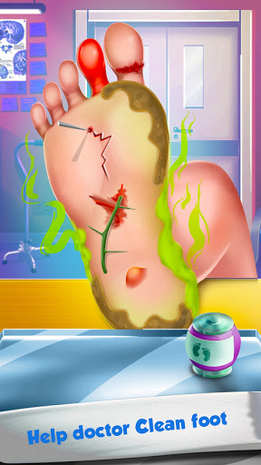Foot Surgery Doctor Care:Free Offline Doctor Games modiapk screenshots 1